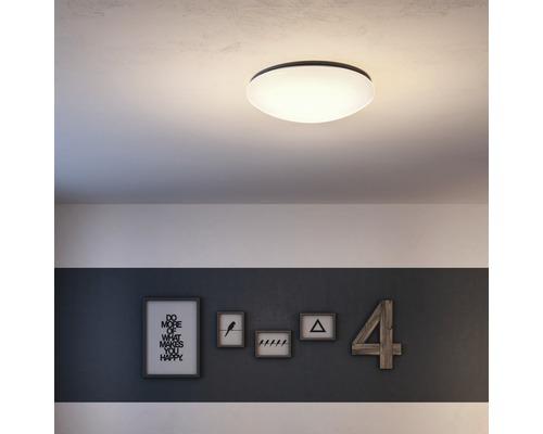 LED Deckenleuchte 10W 2350 lm 4000 K neutralweiß Ø 500 mm Suede weiß