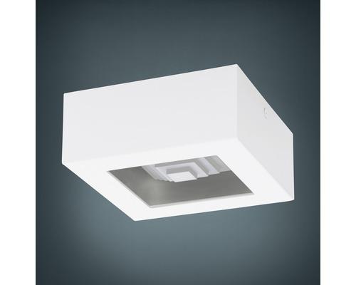LED Deckenleuchte 6,3W 840 lm lm 3000 K warmweiß 140x140 mm Ferreros weiß