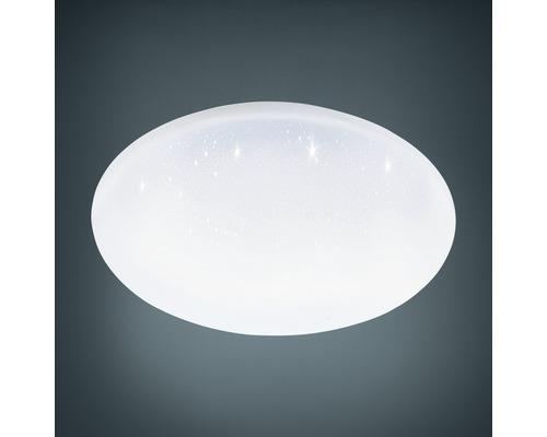 LED Deckenleuchte RGB CCT dimmbar Kristalleffekt 22W 2400 lm 2700-6500 K Crosslink weiß HxØ 65x400 mm mit Fernbedienung