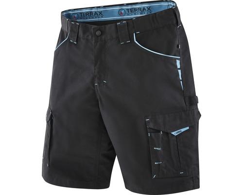 TX Workwear Arbeitsshorts Gr. 56 schwarz/azur