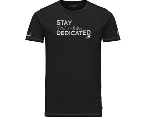 TX Workwear T-Shirt Gr. L schwarz/azur