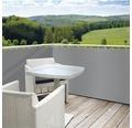 Balkonumrandung Polyester 65x500 cm