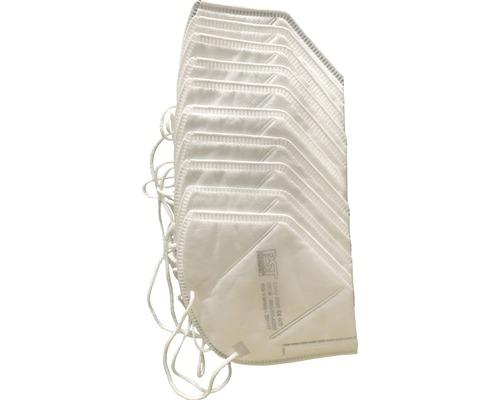 Feinstaubmaske FFP2, 10er Pack CE-gekennzeichnet