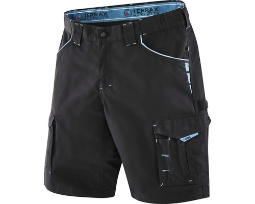TX Workwear Arbeitsshorts Gr. 54 schwarz/azur
