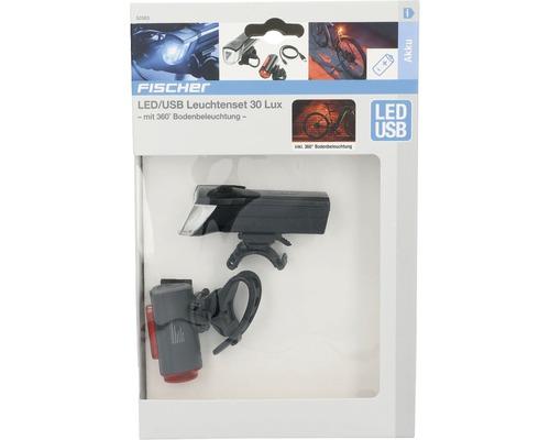 FISCHER Akku-USB-LED Beleuchtungs-Set Bodenbeleuchtung