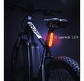 FISCHER LED-Rückleuchte Batterie mit Universalhalterung
