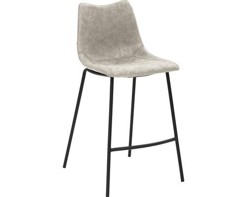 Barhocker Mayer Sitzmöbel myPolo 1175-V3-544 49x55x95,5 cm Puktion stahl pulverbeschichtet Sitz grau