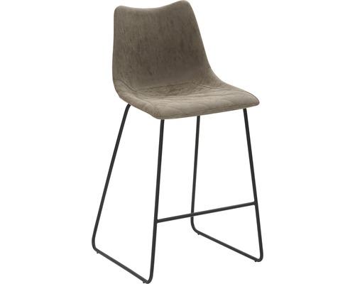 Barhocker Mayer Sitzmöbel myPolo 1175-K3-545 49x51x99 cm Puktion stahl pulverbeschichtet Sitz braun