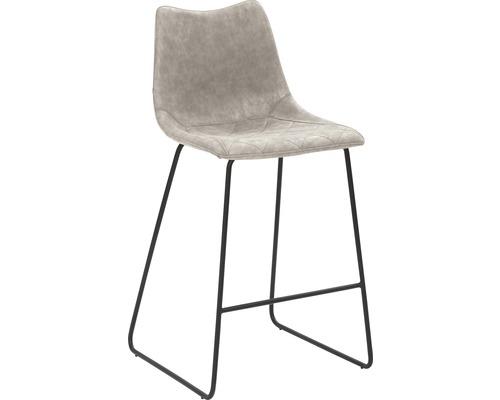 Barhocker Mayer Sitzmöbel myPolo 1175-K3-544 49x51x99 cm Puktion stahl pulverbeschichtet Sitz grau