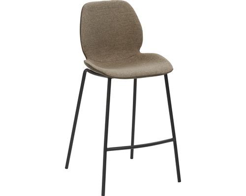 Barhocker Mayer Sitzmöbel myPolo 1176-V3-528 49x53x97 cm Puktion stahl pulverbeschichtet Sitz schwarz
