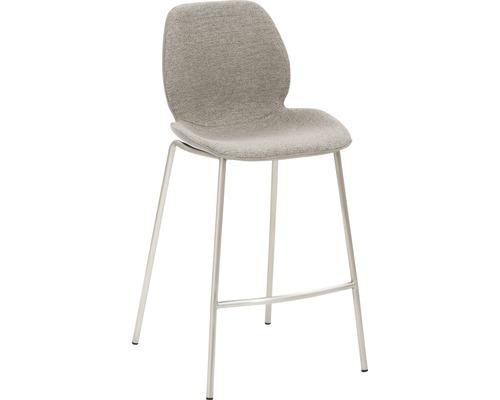 Barhocker Mayer Sitzmöbel myPolo 1176-V4-526 49x53x97 cm Gektion edelstahl gebürstet Sitz braun