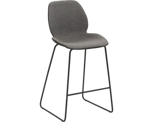 Barhocker Mayer Sitzmöbel myPolo 1176-K3-524 49x52x97 cm Puktion stahl pulverbeschichtet Sitz grau