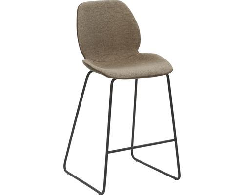 Barhocker Mayer Sitzmöbel myPolo 1176-K3-528 49x52x97 cm Puktion stahl pulverbeschichtet Sitz schwarz