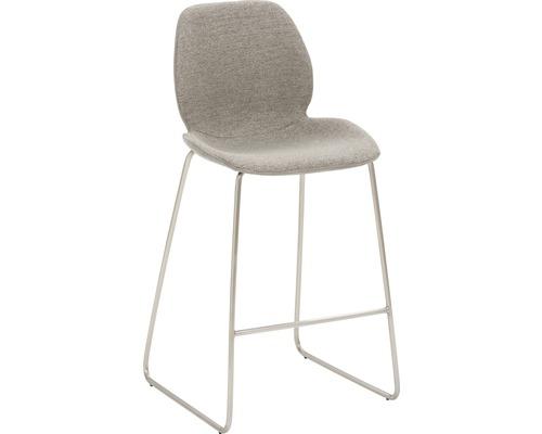 Barhocker Mayer Sitzmöbel myPolo 1176-K4-526 49x52x97 cm Gektion edelstahl gebürstet Sitz braun