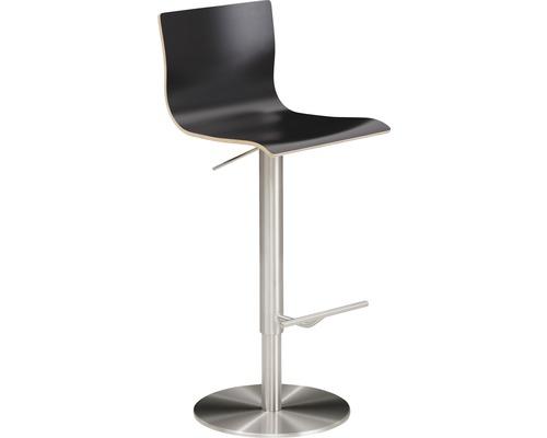 Barhocker Mayer Sitzmöbel myPenri 1226-04-817 39,5x43x107,5 cm Gestell stahl gebürstet Sitz anthrazit