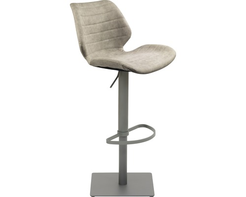 Barhocker Mayer Sitzmöbel myPimo 1277-14-544 46x55x110 cm Pustell stahl pulverbeschichtet Sitz grau