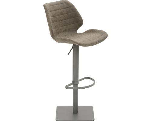 Barhocker Mayer Sitzmöbel myPimo 1277-14-545 46x55x110 cm Pustell stahl pulverbeschichtet Sitz braun