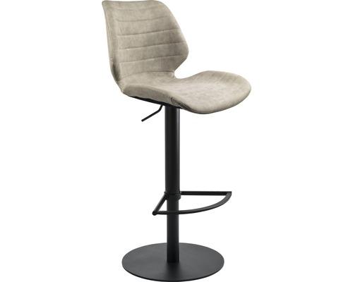 Barhocker Mayer Sitzmöbel myPablo 1377-03-544 46x55x110 cm Pustell stahl pulverbeschichtet Sitz grau
