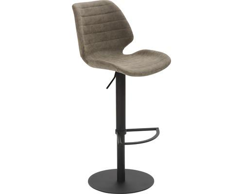Barhocker Mayer Sitzmöbel myPablo 1377-03-545 46x55x110 cm Pustell stahl pulverbeschichtet Sitz braun