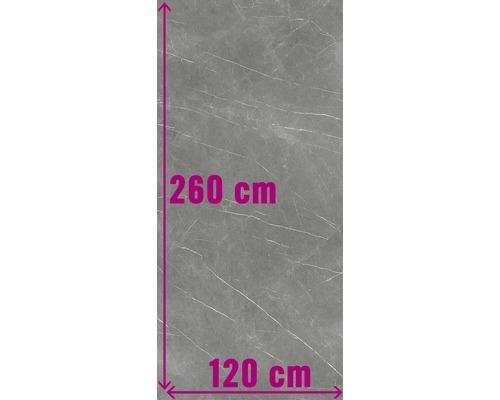 XXL Wand- und Bodenfliese Always Dark Pulido 120x260 cm