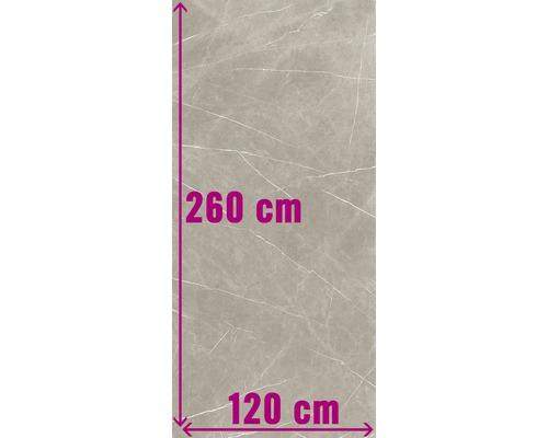XXL Wand- und Bodenfliese Always Taupe Pulido 120x260 cm