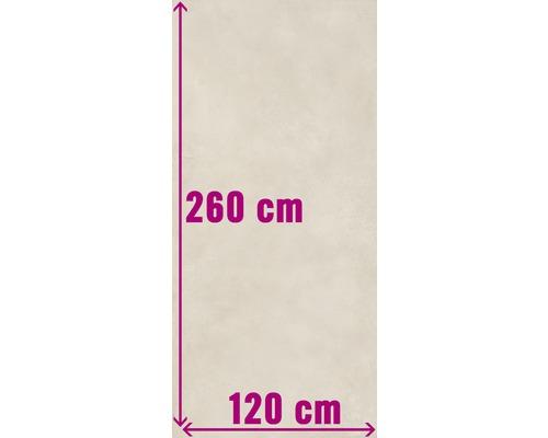 XXL Wand- und Bodenfliese Fresh Ivory Pulido 120x260 cm