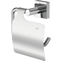 Toilettenpapierhalter Lenz Rain chrom mit Deckel