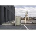 Mülltonnenbox HIDE Holz 69,7x80,7x115,2 cm grau
