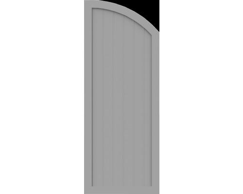 BasicLine, Typ H, rechts, Grau 70x180/150 cm