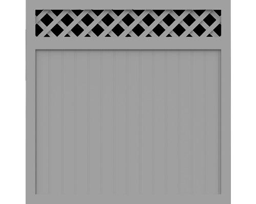 BasicLine, Typ O, Grau, 150x150 cm