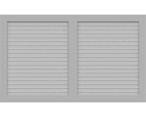 BasicLine, Typ W, Grau, 150x90 cm