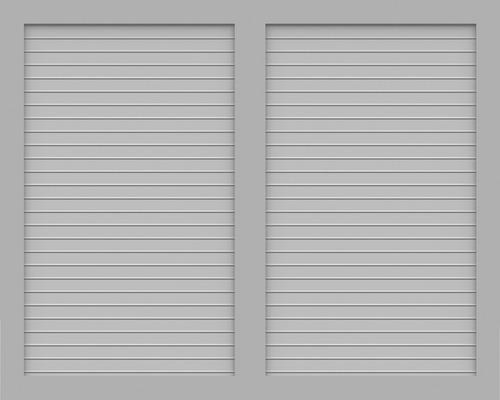 BasicLine, Typ V, Grau, 150x120 cm