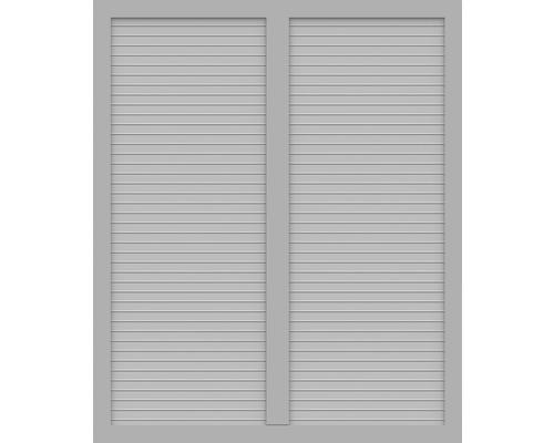 BasicLine, Typ S, Grau, 150x180 cm