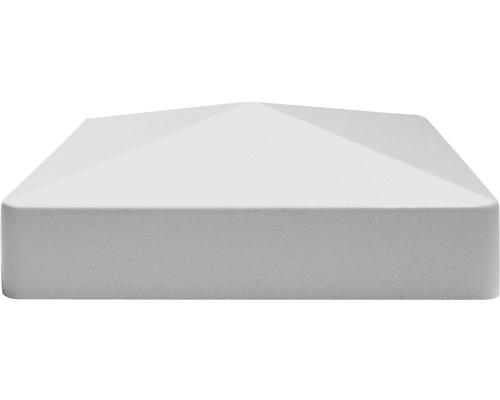 Kappe für Zaunpfosten 87x87, Silbergrau
