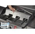 Enders Gasgrill Monroe Black Pro 3 IK Turbo All Black Edition mit 3 Brenner, Backburner, Seitenbrenner, Gusseisenrost, Turbo Zone, Heat Range Brenner-Technologie und Simple Clean