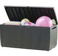Auflagenbox Keter Polyethylen 54x123x57 cm anthrazit