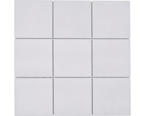Keramikmosaik RAT 200 30x30 cm weiß matt und Rutschhemmend