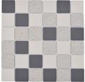 Keramikmosaik CD 210 30,5x30,5 cm beige/grau rutschhemmend R 10 C für Dusche