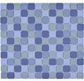 Keramikmosaik JT 251 30,2x33 cm mix blau
