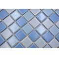 Keramikmosaik BM 200 30,2x33 cm mix blau