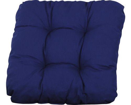 Sitzkissen Sunny 40 x 40 x 6 cm blau