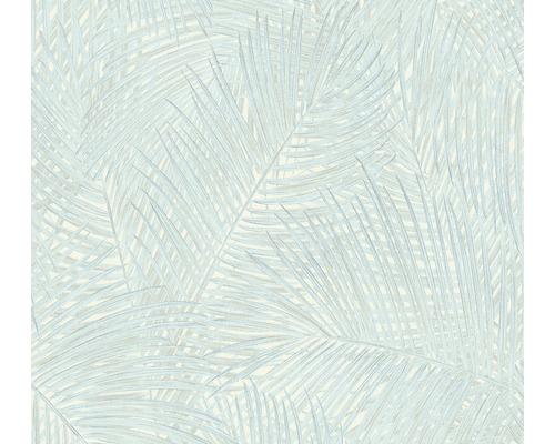 Vliestapete 373714 Sumatra Floral Blau Grün Türkis