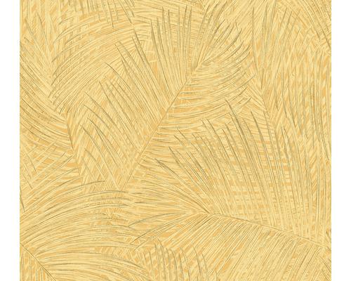 Vliestapete 373711 Sumatra Floral Gelb Orange