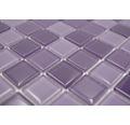 Glasmosaik CM 4888 mix lila 30,2x32,7 cm