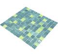 Crystal-Glasmosaik CM 4250 30,2x32,7 cm grün/blau