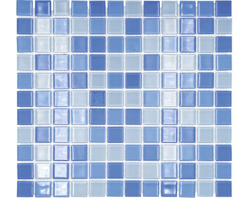 Glasmosaik CM 4222 hellblau 30,2x32,7 cm