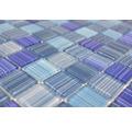 Glasmosaik CM 4285 blau 30,2x32,7 cm