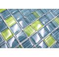 Crystal-Glasmosaik XCM 8250 30,2x32,7 cm grün/blau