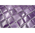 Glasmosaik XCM 8888 30,2x32,7 cm lila