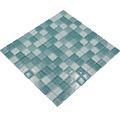 Glasmosaik XCM 8114 30,2x32,7 cm grün